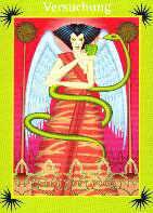 Engelkarte | Versuchung