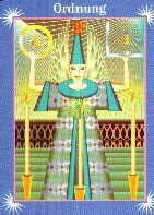 Engelkarte | Ordnung