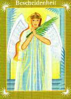 Engelkarte |  Bescheidenheit