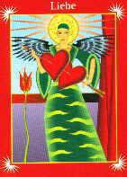 Engelkarte | Liebe