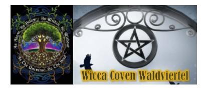 LOGO Wicca Ritualplatz Waldviertel - Im Einklang mit der Natur