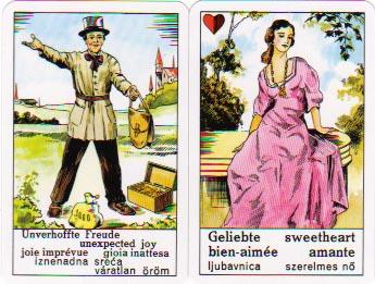 Zigeunerwahrsagekarten